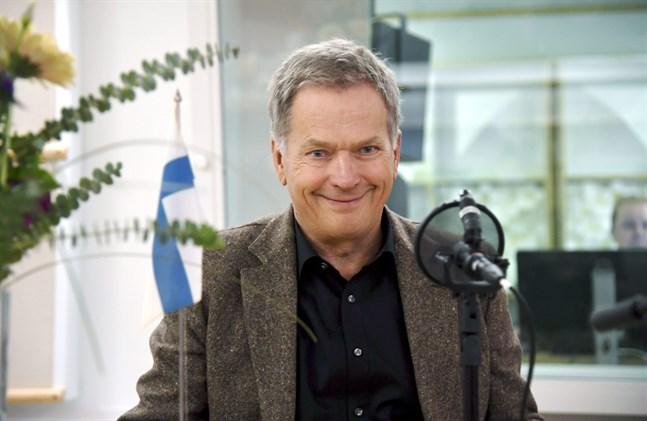 President Sauli Niinistö  svarade på lyssnarfrågor i Yle Radio 1 på lördagen.