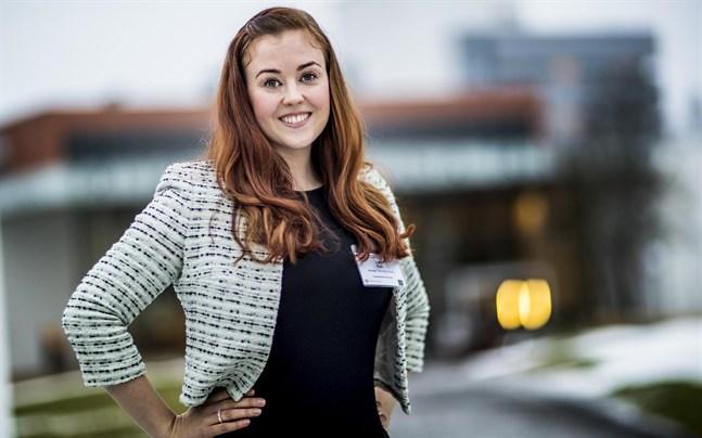 Jenna Hytti föreläste på Hankens och Vasa universitets seminarium.