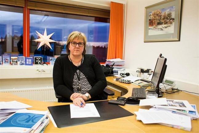 Ulrica Karp har vid delegationens höstmöte återvalts som styrelseordförande för Högskolestiftelsen i Österbotten.