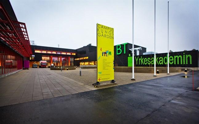 Yrkesakademins, YA:s, största verksamhetsställe är nybyggda Campus Kungsgården i Vasa.