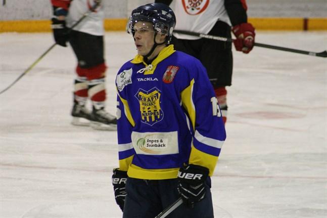 Joakim Kaas gjorde tre mål då Kraft knep en poäng i Suolahti.