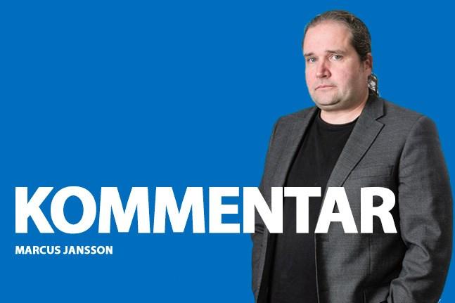 Marcus Jansson. kommentar
