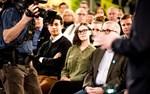 Publiken fick också ställa frågor under debatten.