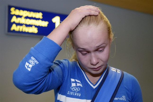 Petra Olli åkte på ett rejält bakslag strax före EM.