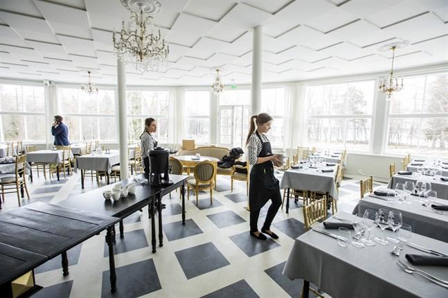 Restaurang Villa Sandviken.