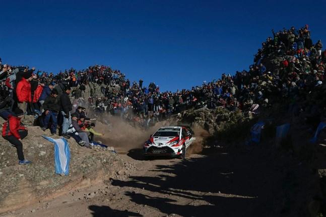 Jari-Matti Latvala körde in på en femte plats i Argentinas VM-rally.