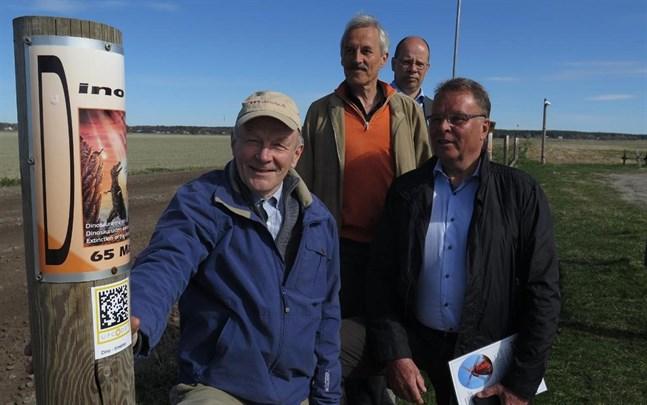 Matts Andersén, Peter Edén, Kaj Kankaanpää och Kjell Nybacka utvecklade tillsammans digiresan vid Meteoria Söderfjärden.