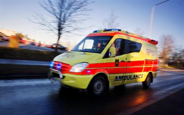 Ambulans på uppdrag.