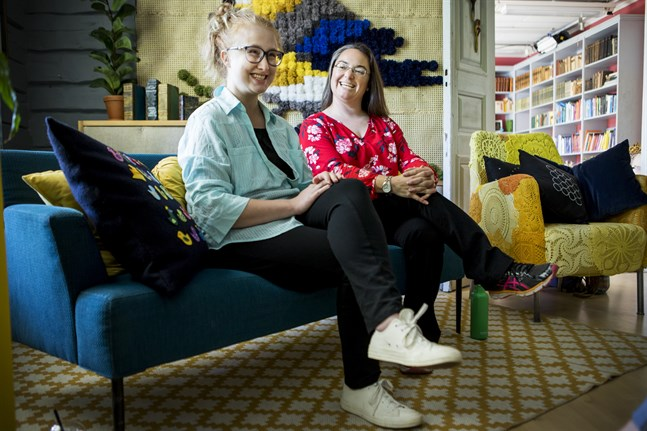 """Aubra Shepard och Sarah Sumners menar att alla organisationer gynnas av kreativitet. """"Kreativitet är livets krydda"""", säger Sumners."""