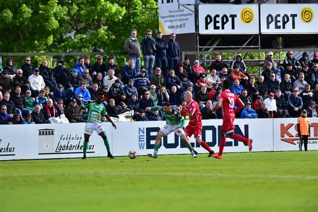 Kommande division 1-säsong blir det åter derbyn mellan Jaro och KPV.