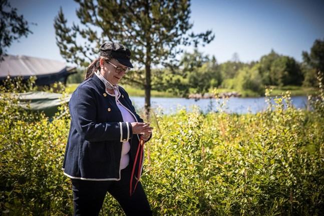 Maria Lunabba är ordförande för Gamla hamn, föreningen för aktörerna i området.