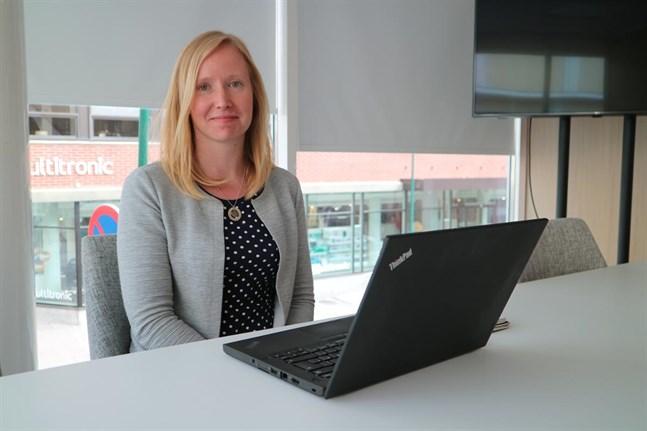 Monika Ahlskog är operativ chef på Nooga.