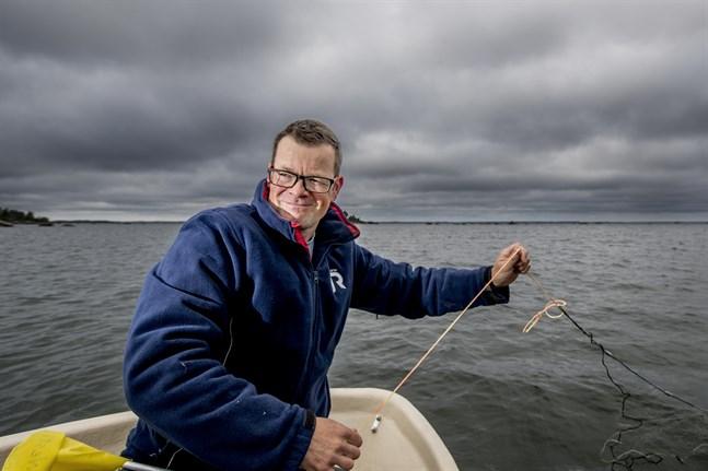 Vincent Westberg är marinbiolog och gruppchef på NTM-centralen.