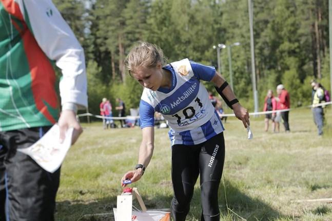 Kirsi Nurmi blev tvåa i Vanda.