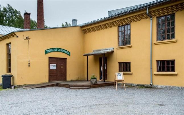 Cikoriamuseet är skyddat till både exteriör och interiör.