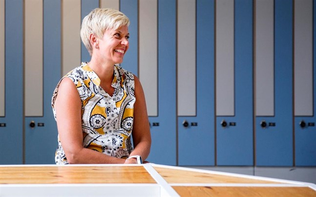 Inger Damlin är FSL:s nya ordförande.