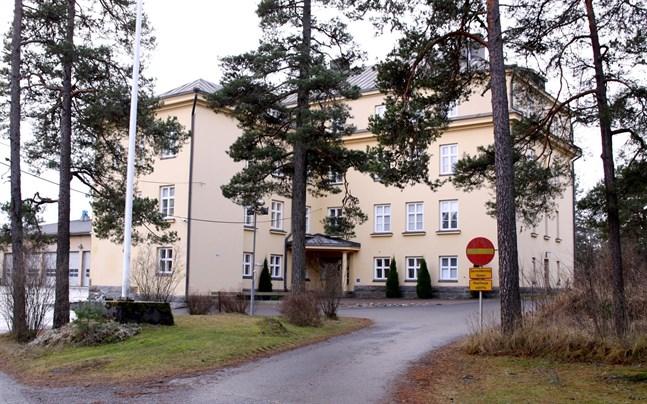 Röda korsets mottagningscentral i Kristinestad.