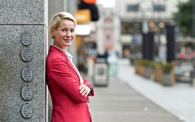 Anna-Mari Karhunen har redan loggat ut från sitt tidigare jobb och har nu gott om tid att ordna med bostad i Vasa.