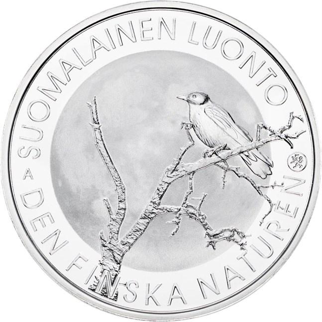 Den finska naturen fick ett jubileumsmynt på måndagen.