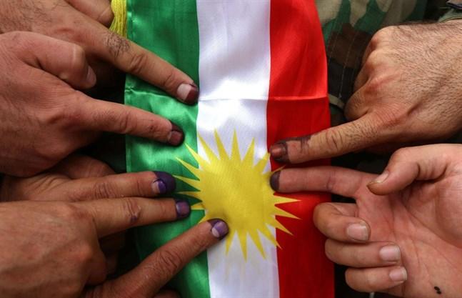 Gladje bland kurder i sverige