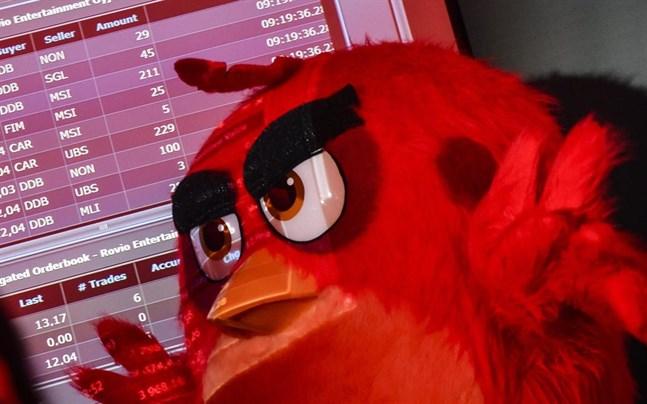 Rovio-aktien har stigit kraftigt i år, men nu vinstvarnar de arga fåglarna.