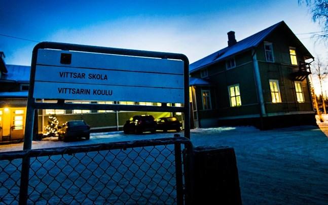 Vittsar skola har lagts ner och är till salu.