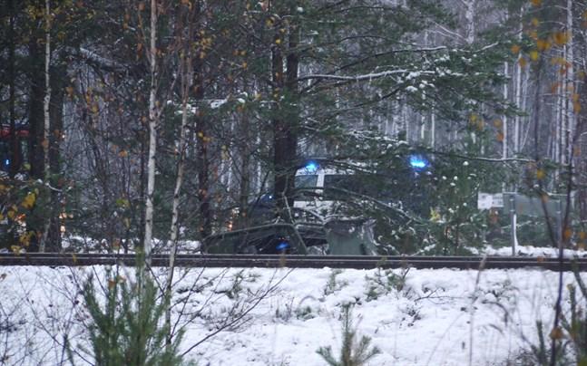Olyckan inträffade i Skogby i Ekenäs.