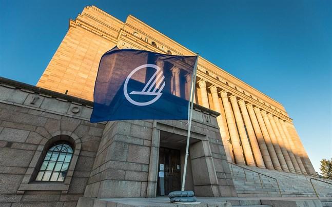 Bild från Nordiska rådets 69:e session i riksdagshuset i Helsingfors 2017.