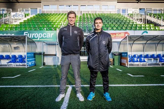 Ricardo Duarte assisterade Petri Vuorinen i VPS 2018.