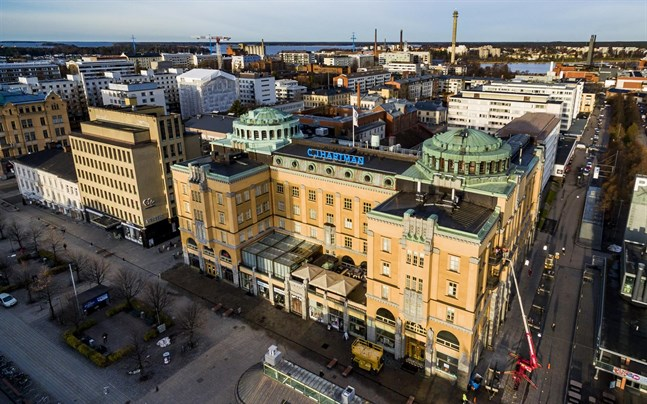 Hartman Invest har 40 lägenheter i Hartmanhuset. De flesta är affärsutrymmen eller kontor.