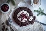 Kladdig brownie gjord på svarta bönor - för dem som älskar choklad!