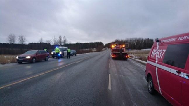 Olycksplatsen i närheten i Gunilack. Arkivfoto.