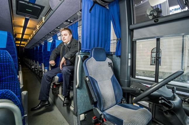 På torsdag tar bussbolaget Wiik & Ström i bruk ett tjugotal bussar igen.