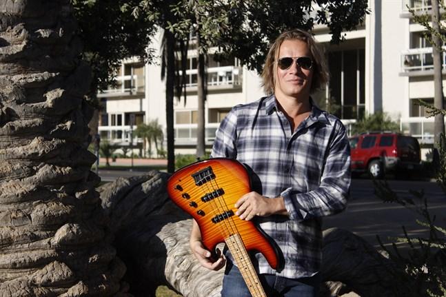 Jan Simons i Los Angeles arbetar nu med musiker han lyssnat på medan han växt upp.