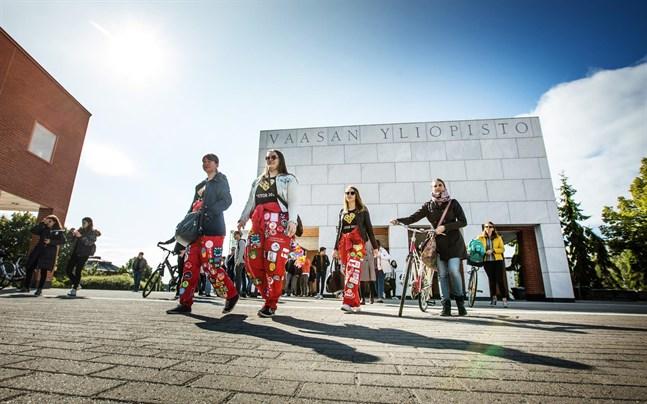 Denna vecka markerar höstterminens startskott för närmare 13 000 studerande i Vasa.