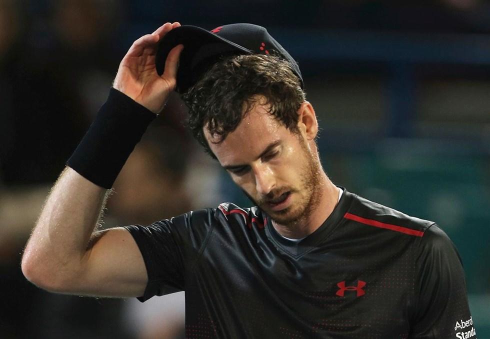 Andy Murray i Abu Dhabi i förra veckan. Foto  Kamran Jebreili AP TT e7792b5eb14a2