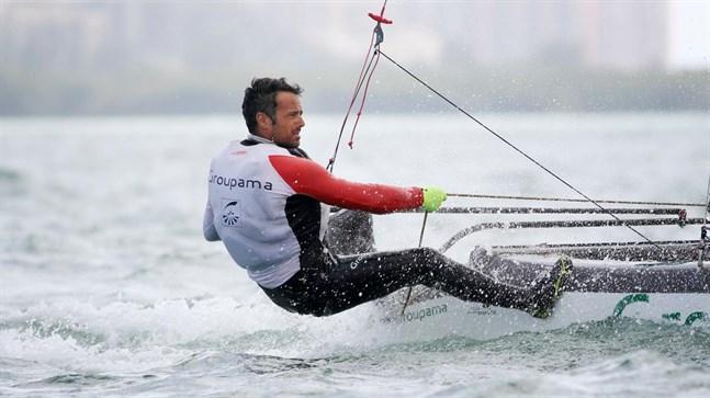 Franck Cammas, här under en annan tävling.