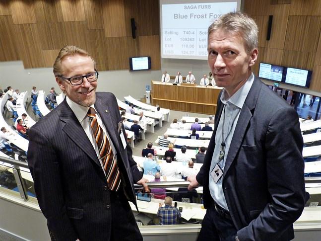 Krisen inom pälsnäringen börjar bli jämförbar med den kring decennieskiftet 1990 konstaterar Vasa Andelsbanks vd Ulf Nylund och farmarförbundets ordförande Kenneth Ingman  .