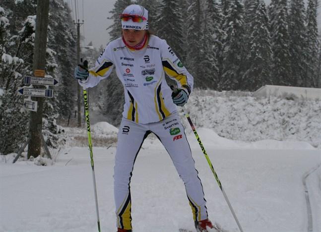 Heidi Kuuttinen tog FM-silver på normaldistans i Lahtis.