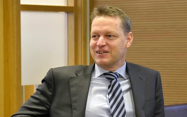 Ålandsbankens vd Peter Wiklöf får vara nöjd med kvartalet.