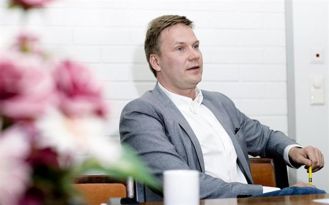 Malax kommundirektör Mats Brandt.