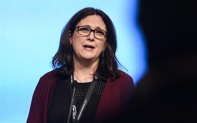 Svenske Cecilia Malmström är EU:s handelskommissionär.