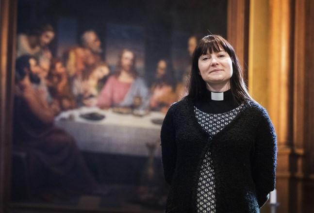 Till vardags jobbar Hanna Jern som församlingspastor i Vasa svenska församling.