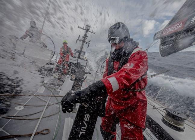 John Fisher dagen innan han föll överbord.