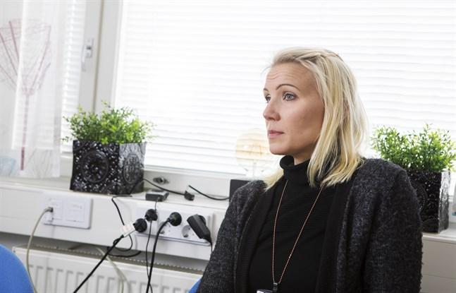 Marina Kinnunen är glad att Vasa centralsjukhus fick den utlovade miljonen.