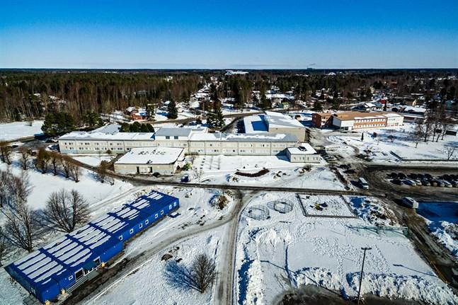 Smedsby skolcentrum fixk startlov för utbyggnad.