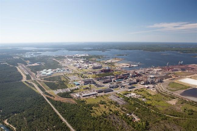 På storindustriområdet i Karleby ska Keliber bygga sin litumfabrik men i nuläget ser det ut som om den litium som ska bli batterier i Vasa ska komma från Chile.