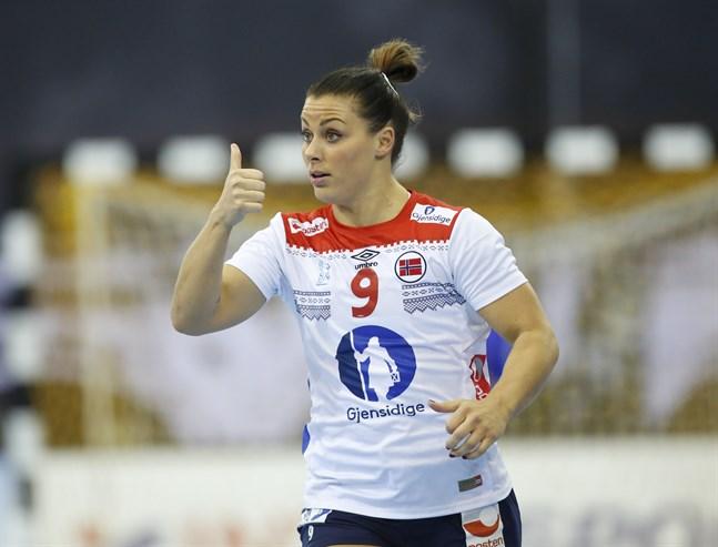 Nora Mörk under VM i december i fjol.