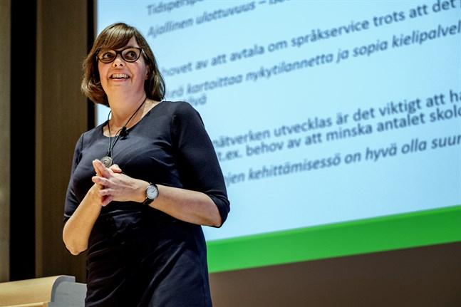 Siv Sandberg är ny styrelseordförande för Samfundet Folkhälsan.