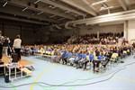Blue Fox-juniorerna firade säsongsavslutning i Stora Björn i tisdags.